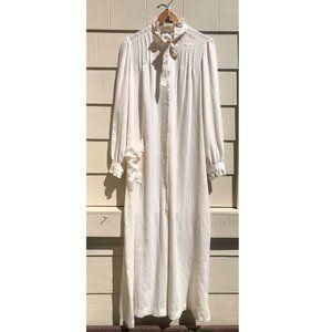 CHRISTIAN DIOR Vintage Loungewear Robe MuuMuu